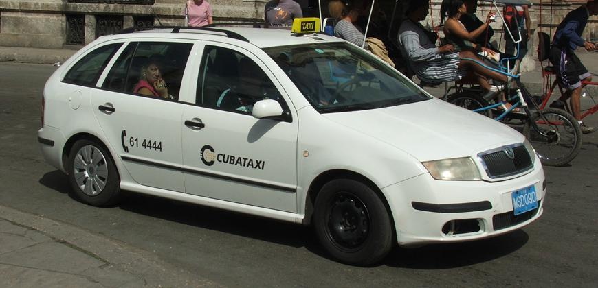 Такси официальное на Кубе
