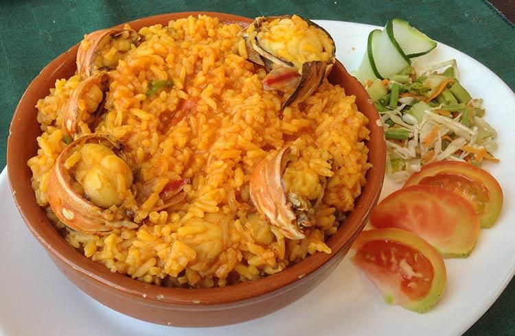 Еда на Кубе блюда