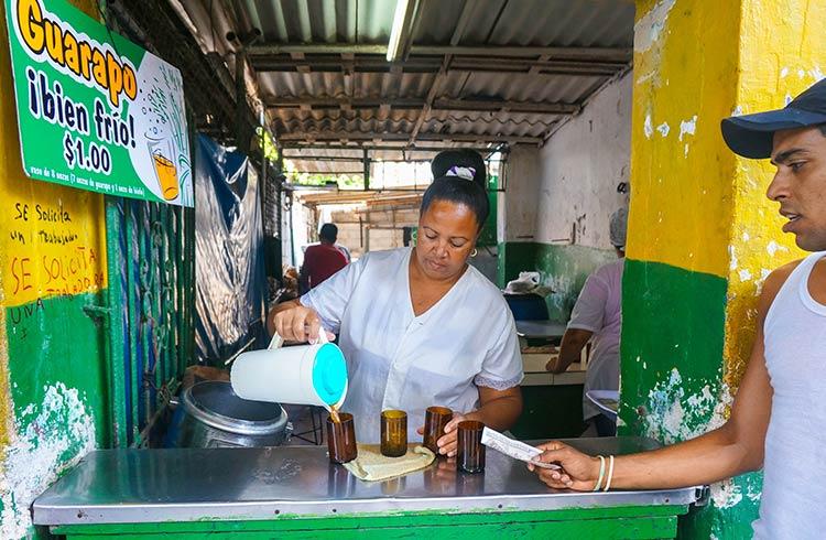 Забегаловки на Кубе