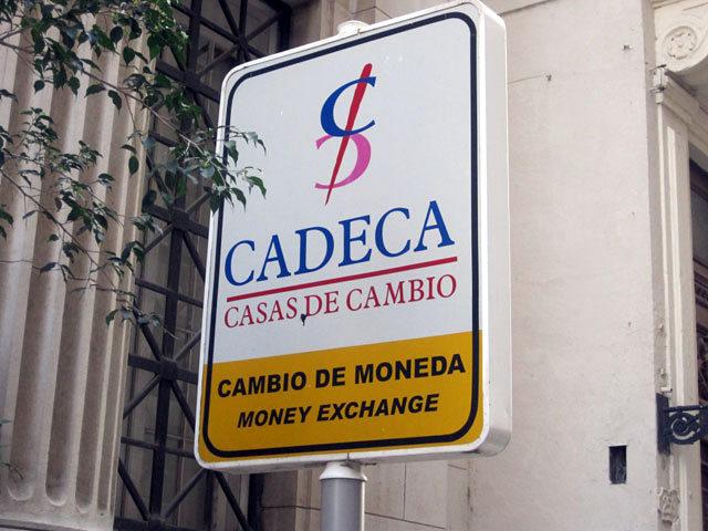 Обменники на Кубе