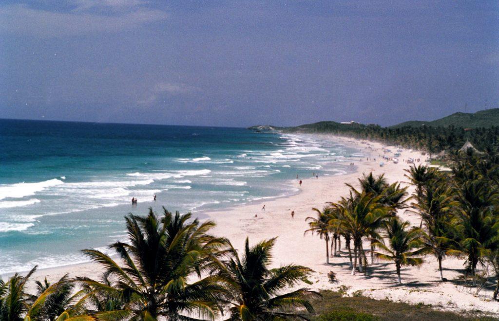 Пляж Эль-Агуа на острове Маргарита